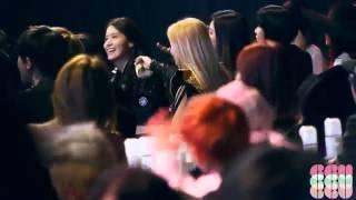 """140212 SNSD fancam @Gaon Chart KPOP Awards """"Dynamic Duo"""""""
