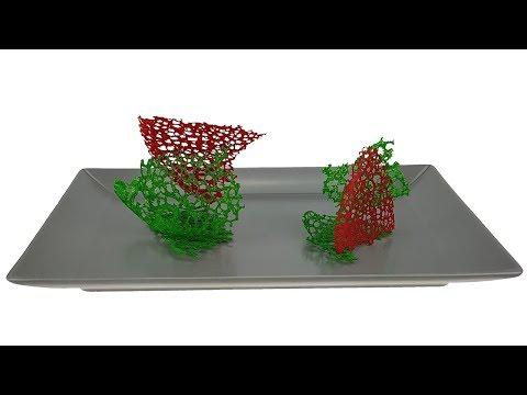 Кружевной чипс. Украшение для еды. Декор для горячих и холодных блюд. How to Make Coral.