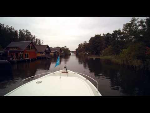 Autumn Trip by Locaboat at Mecklenburg / Herbstörn mit der Locaboat Penichette, MEcklenburg