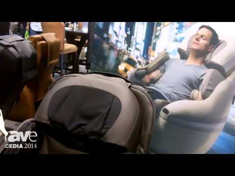 CEDIA 2014: The Finest Brands Details the Inada Dream Wave Massage Chair