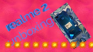 Realme 2 Diamond blue Unboxing hindi
