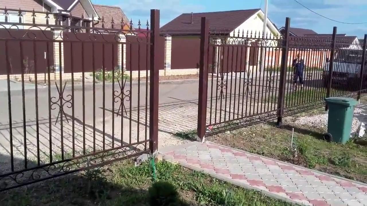 Как сделать забор с пиками 87