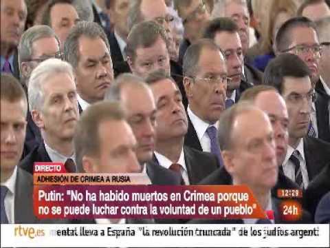 DISCURSO PUTIN sobre ANEXIÓN CRIMEA A RUSIA 18 marzo 2014