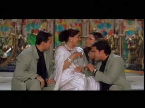 Salman Khan, Monish Behl, Saif Ali Khan & Neelam in Yeh To Sach Hai - Hum Saath Saath Hain