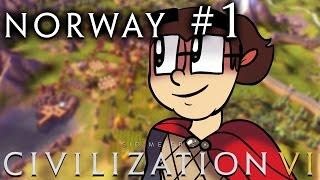 Civilization VI [Six!!] - Norway: Religious Vikings! - Part 1