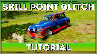 PATCHED! Skill Points Glitch! Forza Horizon 4 (Tutorial)