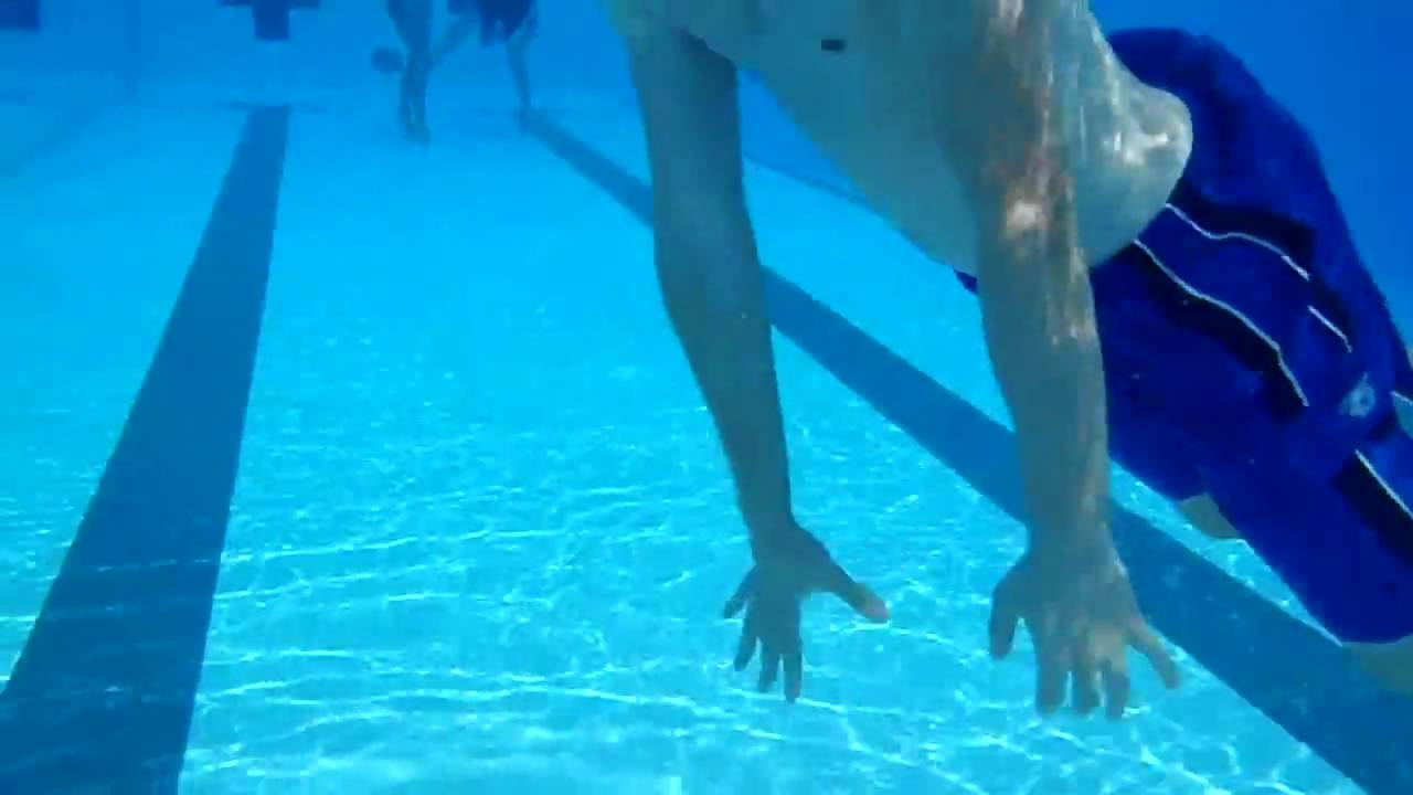 Underwater Cam At The Arc Pool At Uiuc July 2010 Hd Youtube