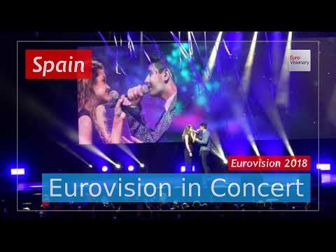 Spain Eurovision 2018 Live: Amaia y Alfred - Tu Canción - Eurovision in Concert