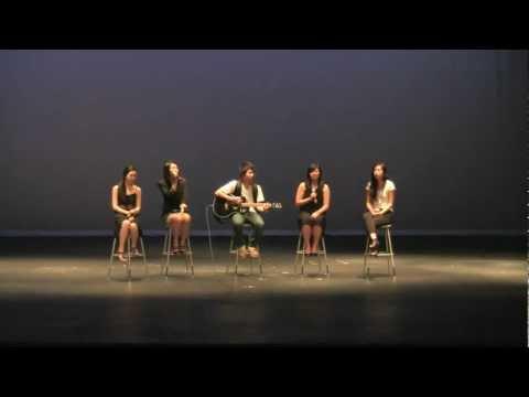 Plano West Asian Fest : Allison Kim, Hannah Myung, Caleb Park, Sara Um, And Jeanne Yoo