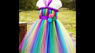 How To Wrap Ribbon Around a Tutu Dress