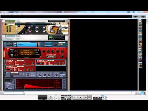 How To Make An Awsome Electric Guitar Patch In Propellerhead Reason 6
