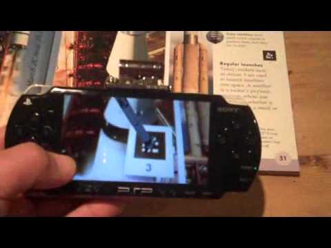 Augmented Reality with Second Sight on a Sony PlayStation Portable
