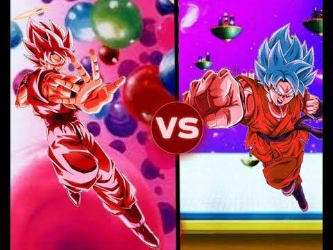 Super Saiyajin Blue Kaio-ken y Super Kaio-Ken / Comparación