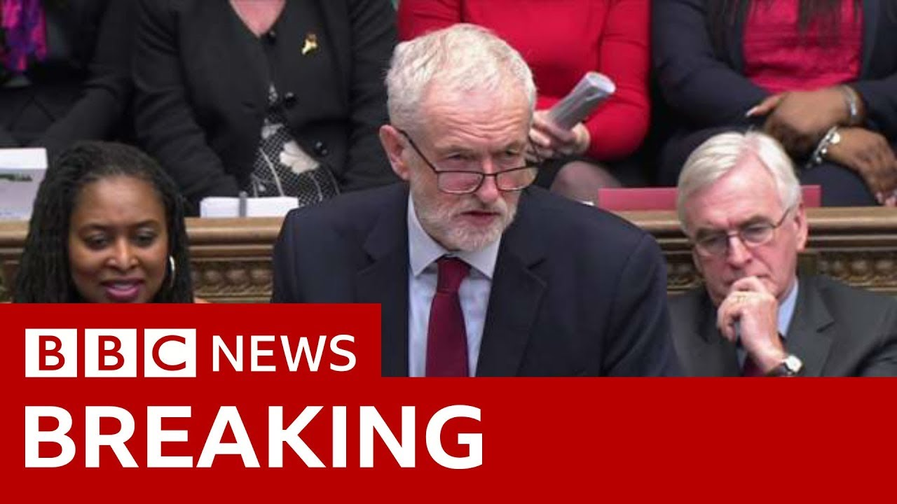 Corbyn: Does PM finally accept that deal is finished? - BBC News