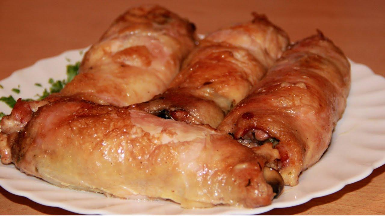 Куриные грудки фаршированные в духовке рецепт пошагово в