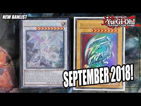 Yu-Gi-Oh! BEST! BLUE-EYES DECK PROFILE! SEPTEMBER 17th, 2018 BANLIST! + COMBO! (Deck Update 2018)