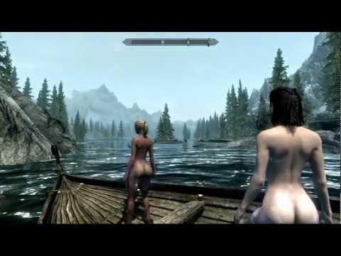 девушки в лесу фото скайрим голые секс