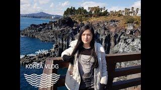 KOREA WINTER TRIP VLOG 2018! (Jeju, Seoul, Myeongdong, Palace) #2!!