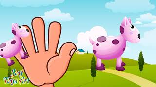 The Finger Family Cow  Family Nursery Rhyme | Kids Animation Rhymes Songs #4