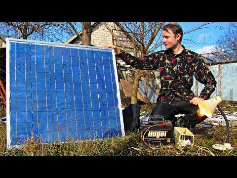 ✅Солнечная электростанция своими руками 💡Подробная инструкция сборки, альтернативная энергетика