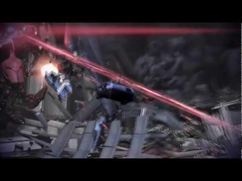 Mass Effect 3 : Leaving Earth scene ( PC 1080p )