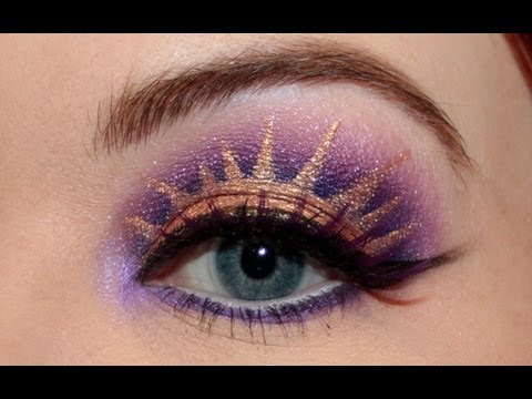 Rapunzel from Tangled Makeup Tutorial