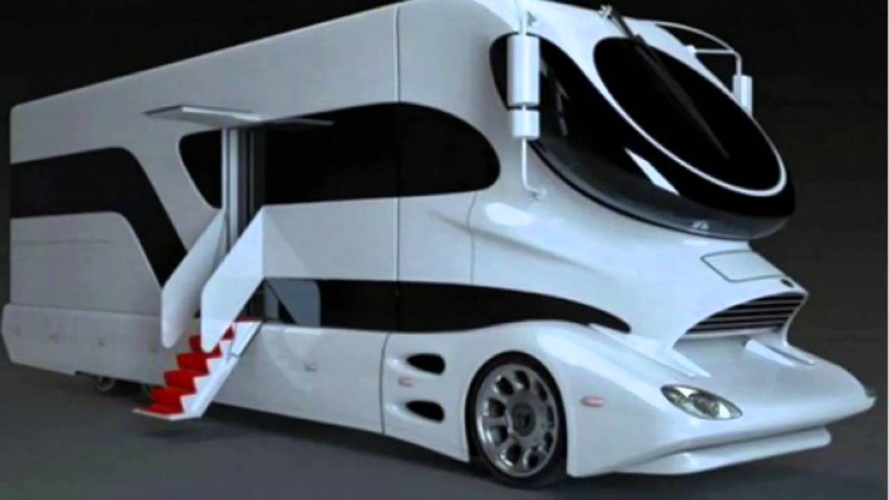 The most luxurious motorhome in the world - eleMMent Palazzo - YouTube