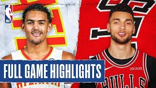 HAWKS at BULLS | FULL GAME HIGHLIGHTS | December 11, 2019