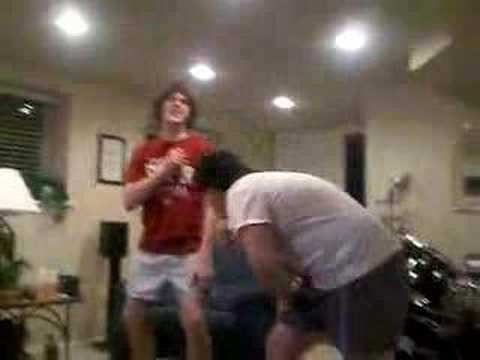 boys in there underwear! Video