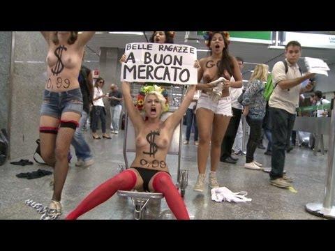 Ativistas protestam contra turismo sexual no Brasil