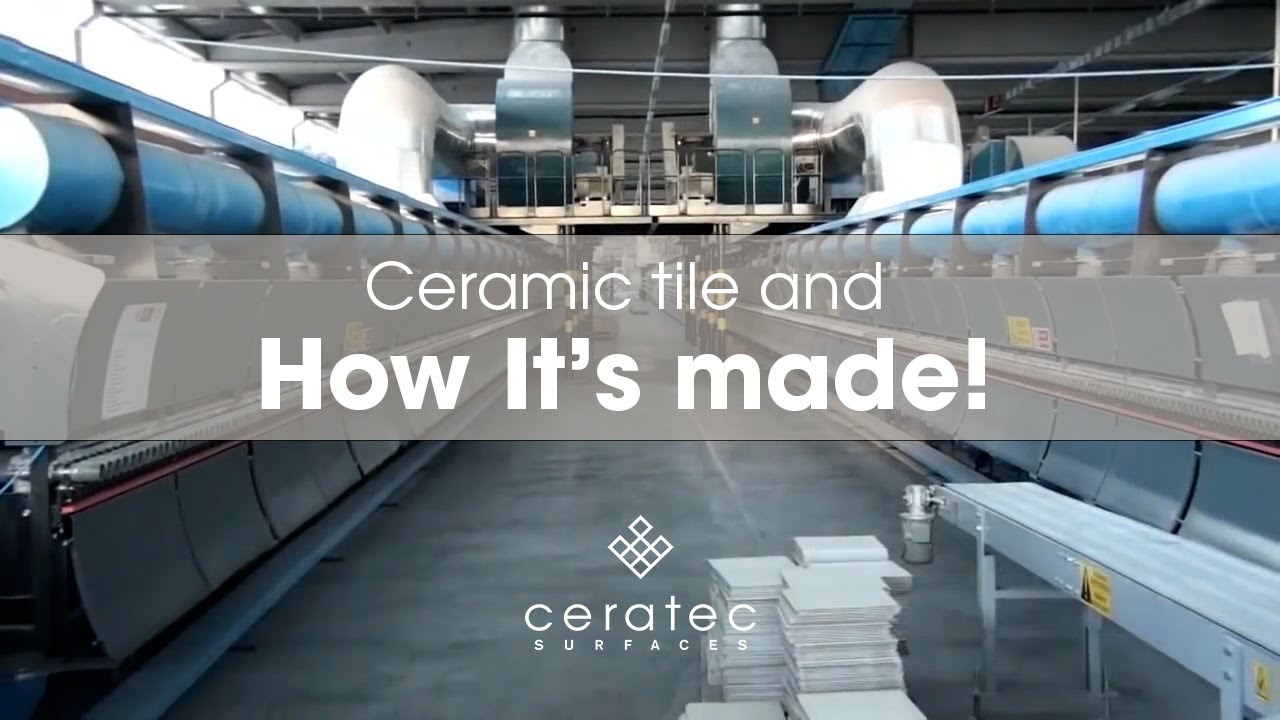 Ceramic tiles manufacturing process