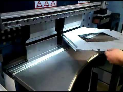 Sheet metal work. bending sheet metal components and CNC bending using press brakes