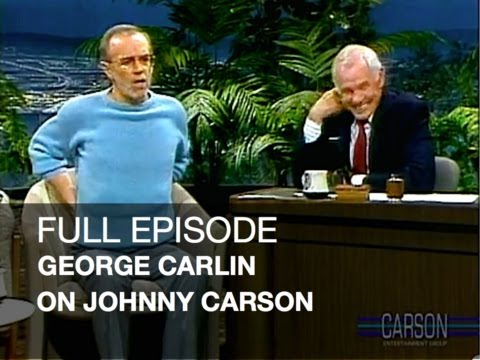 JOHNNY CARSON FULL EPISODE: George Carlin Stand Up Comedy, Dog Climber, Johnny Carson s Tonight Show