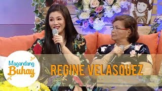 Magandang Buhay Regine Reveals How Her Mother Reacted To Her Kissing Scenes With Aga Muhlach