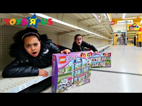 We Got The Last LEGO Toys! Toy Hunt At Toys R US - Pretend Play Toys AndMe