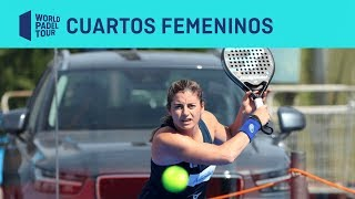 Resumen Cuartos de Final Femeninos (segundo turno) Alisea Ledus Jaén Open | World Padel Tour