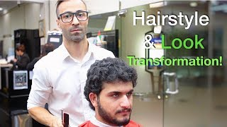Best Mens Haircuts For (Curly Hair) 2018   Keratin Hair Treatment   Hairstyles for men #37