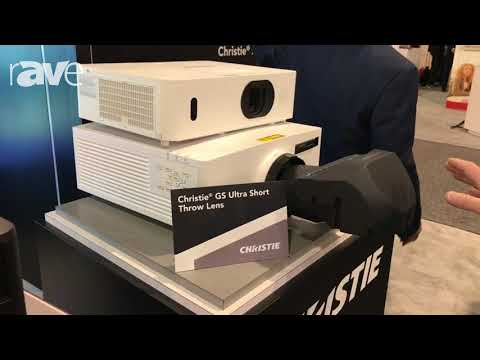 Educause 2017: Christie Presents GS Series Laser Phosphor and Plus Bold Color Projectors
