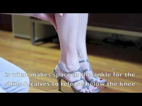 Improve Posture for Walking in High Heels with Better Foot Support & Knee Pain Relief