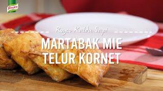 Resep Royco - Martabak Mie Telor Kornet