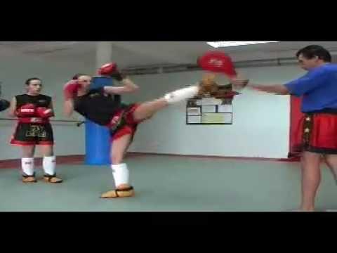 USV-KB  Techniques de jambes - Middle kick - Front kick - full contact