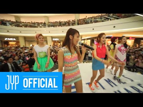 Wonder Girls   Like This   Flashmob & Mini Event video