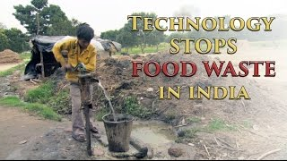 Technology stops food waste in India [HD]