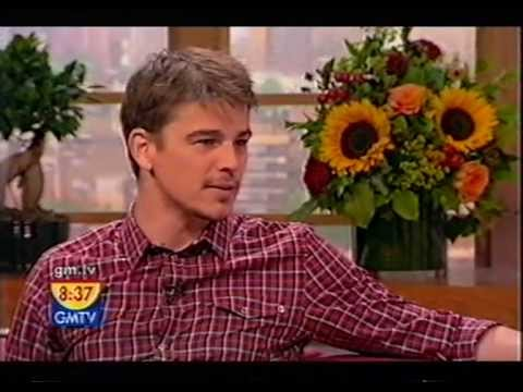 Josh Hartnett - GMTV interview
