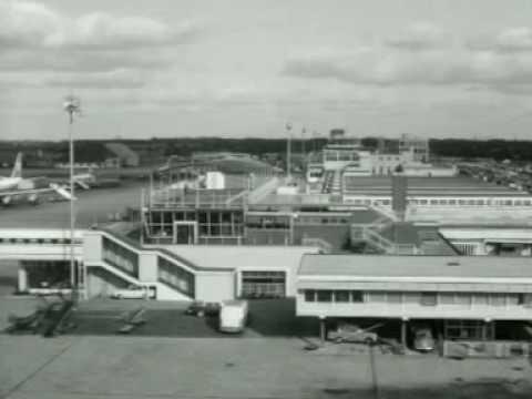 Bouw nieuw Schiphol (1963)