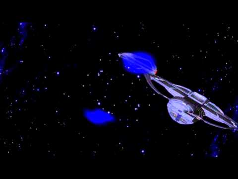 Star Trek Hitfilm Test Starship Flyby