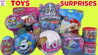 Pikmi POPS LOL 5 Surprise Toys Glitter Nintendo My Little Pony Series 9 Fashem Paw Patrol Opening