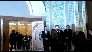 The funeral of prominent actor Mahmoud Abdul Aziz