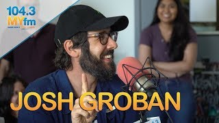Josh Groban On New Album How He Got His Start Does A Dramatic Reading Of 39 Granted 39