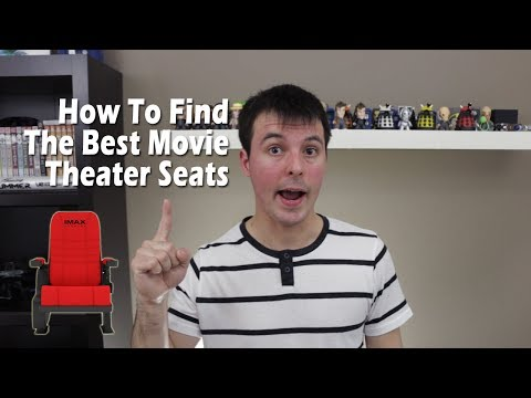 How To Find The Best Movie Theater Seats